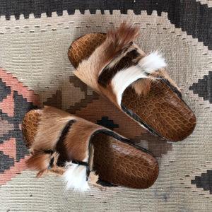BRK Furry Beige Cavallino