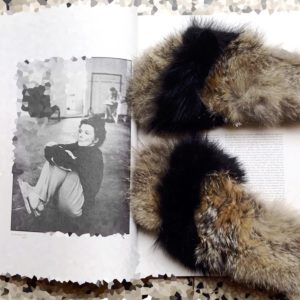 Brkfurry Black and Melange Fox