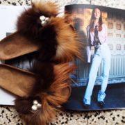 BRK Furry Brown/Beige Strap