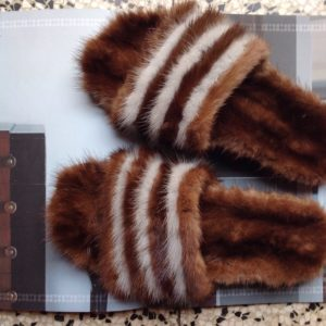Furlette BROWN/WHITE MINK